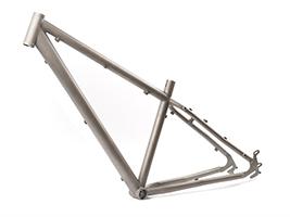 Титановая рама на велосипед